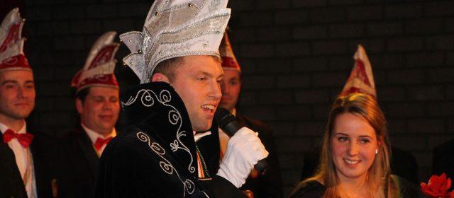 Nieuwe heersers Beringse Kuus: Prins Roger I en jeugdprinsenpaar Luuk I en Tess I